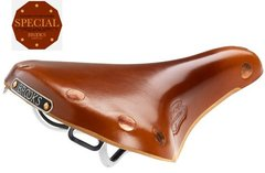 Team Pro Ladies Chrome Saddle - HONEY
