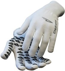 Gloves White Large