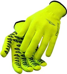 Gloves Neon Yellow Large