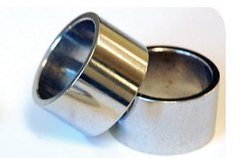 "1-1/8"" Silver Spacer 10mm"