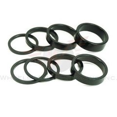"Headset Spacer 1-1/4"" x 10mm Blk"