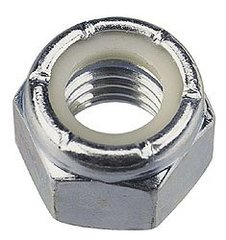 4mm Stainless Nylock Hex Nut 10 pcs/bag