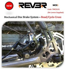 Rever MCX1 Mechanical Disc Brake / Road (no levers)