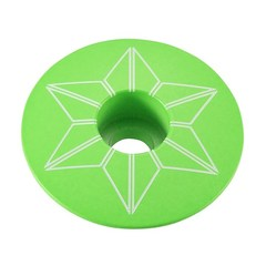 Star Capz Neon Green (Powder Coated)