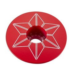 Star Capz Red (Powder Coated)
