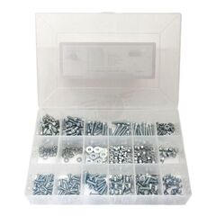 5mm Zinc Plated Steel Fastener Kit